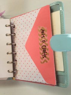 Planners & Printables: How to Use Envelopes in Your Filofax