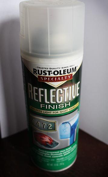 Where To Use Reflective Spray Paint
