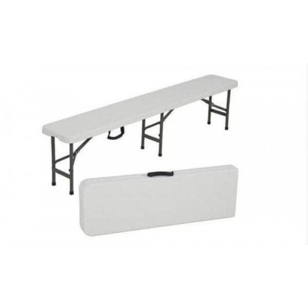 Two Of These Best Choiceproducts Folding Portable Plastic Indoor Outdoor Picnic Party Dining Bench