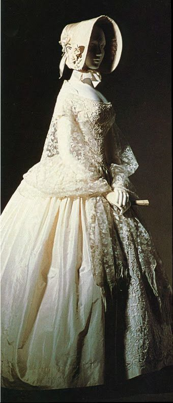 1845 Wedding dress