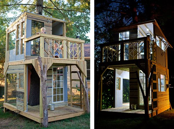 Shaker Style Treehouse   For The Kid In Every Adult.