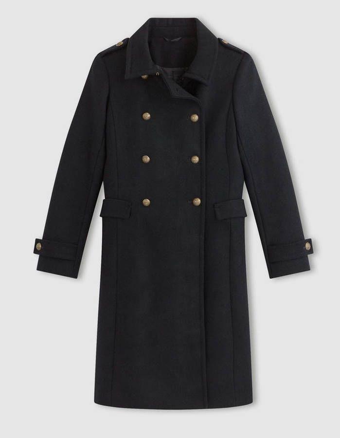 Manteau officier femme / 14 manteaux officier pour un hiver stylé