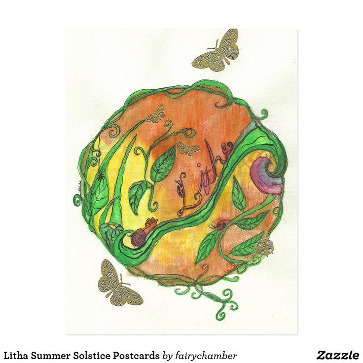 Litha Summer Solstice Postcards