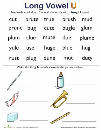Worksheet Vowel Consonant E Worksheets 1000 images about long vowels cvc e on pinterest activities worksheets learning u words 2