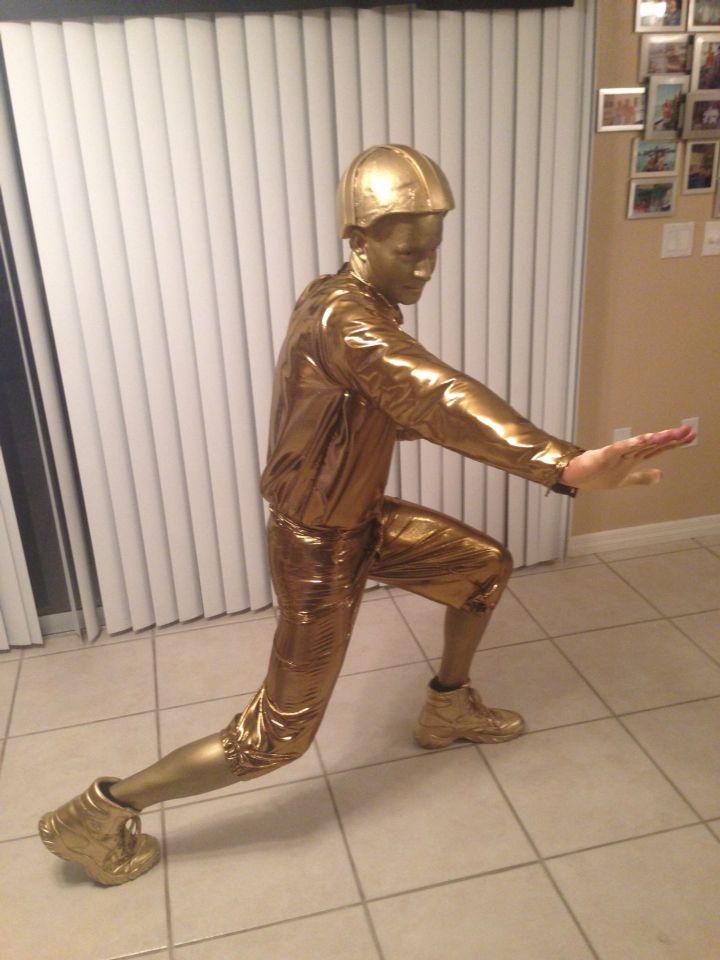 Heisman trophy Halloween costume