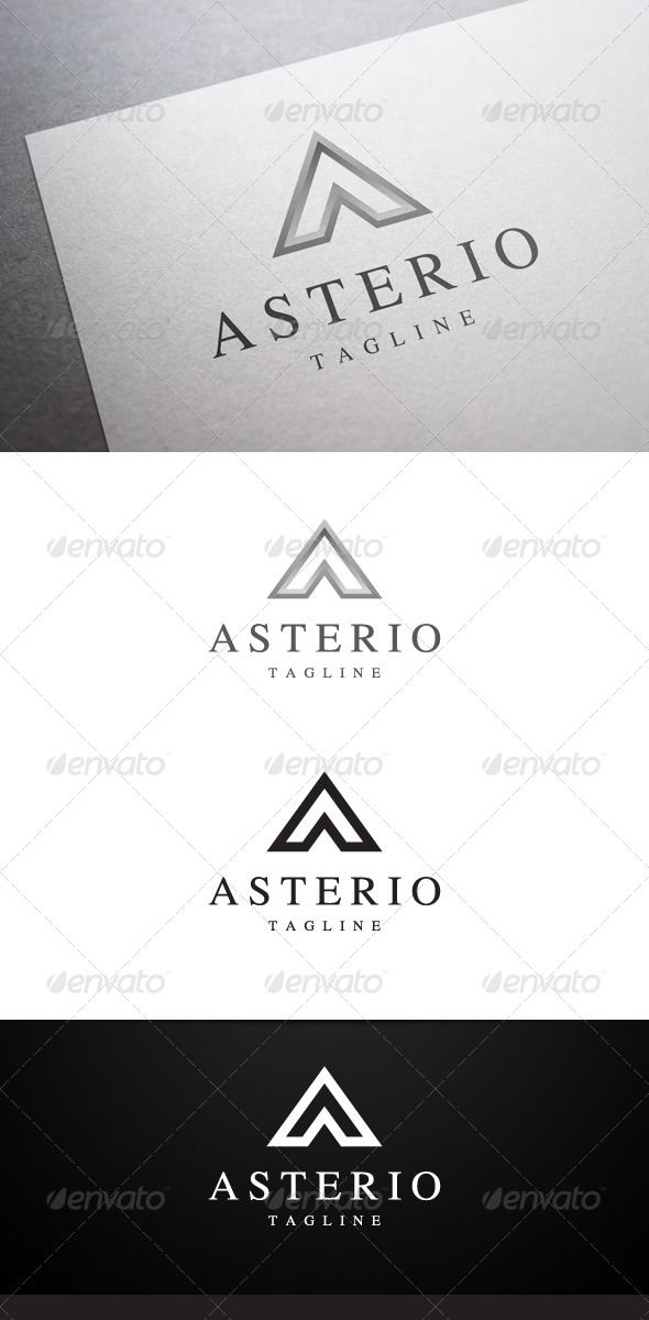 Description Asterio A Letter Logo is a multipurpose logo. This logo can be used by law office, golf club, hotel, restaurant, etc.W