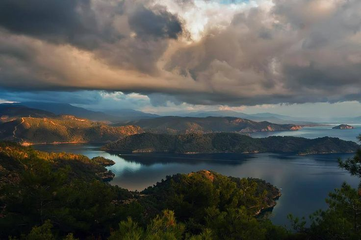 Good evening from #Gocek Islands available to visit on 12 Island Boat Trip
