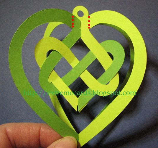 Celtic Knot Valentine - great site with pattern and detailed photo directions for making