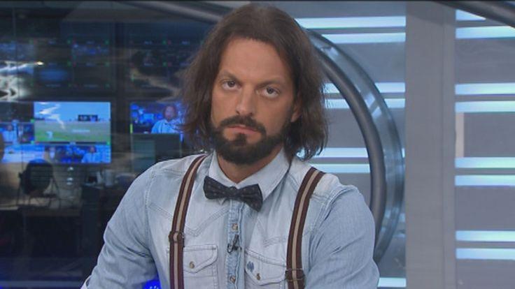 """Juan Manuel """"El Rifle"""" Varela: uno de sus sellos es el look, siempre muy particular. </span></p>"""