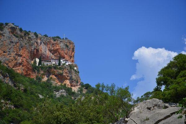 Moni Elonas close to Leonidio, Peloponnese