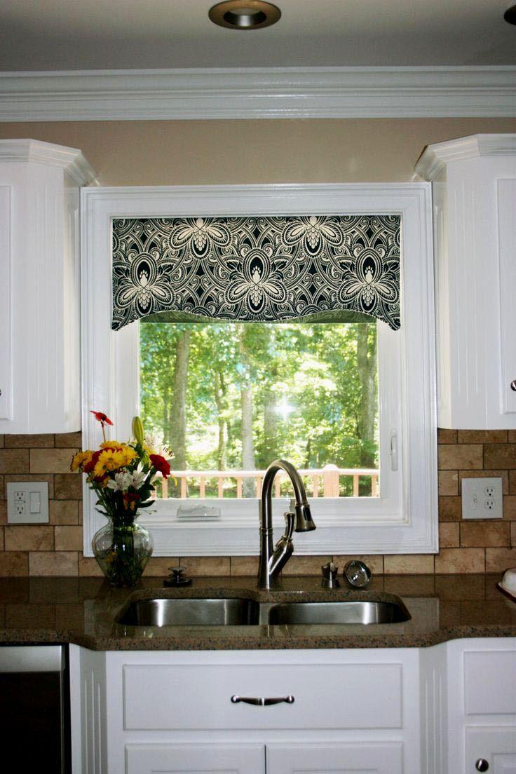 Modern Valances For Kitchen Windows - http://godecorator.xyz/modern-valances-for-kitchen-windows/