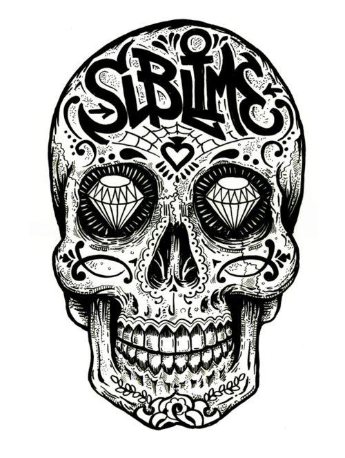 * Sublime Skull Art *