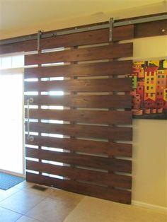 DIY for door if I ever have sliding doors