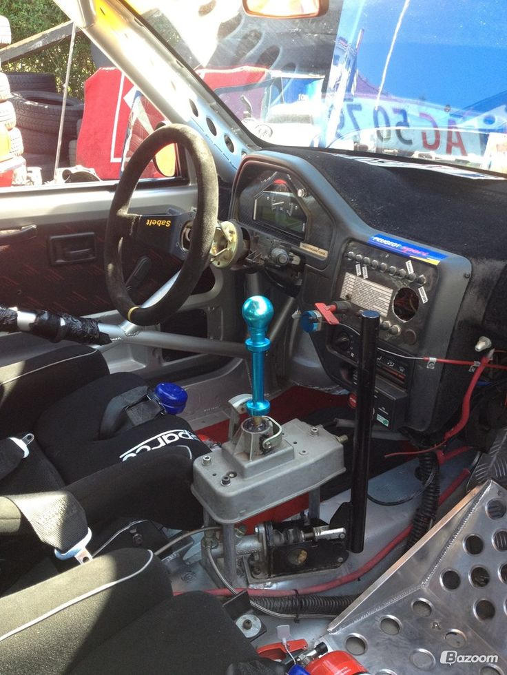 Peugeot 106 Maxi Rallybil 2000 billede 7