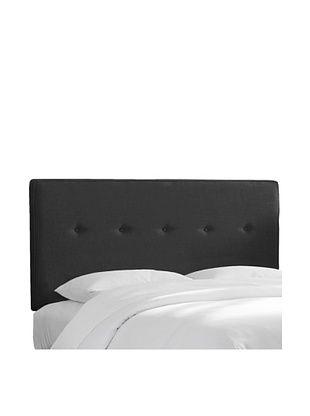 51% OFF Skyline Furniture Five-Button Headboard (Twill Black)