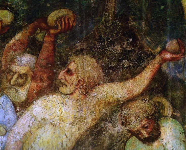 Kamenování Krista na vinici (1360)