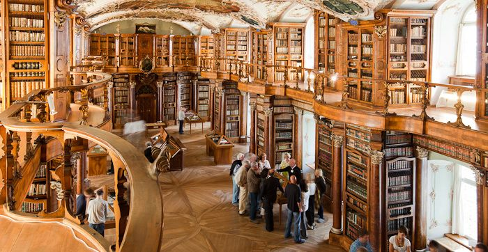 Abbey Library - St.Gallen-Bodensee Tourism - Abbey Library - Abbey Precincts - UNESCO & Culture