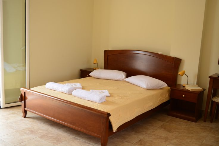 Big double bed, so you can enjoy a good sleep, which  you need in holidays.