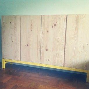 Ivar Cabinet W Yellow Legs Ikea Pinterest Cabinets