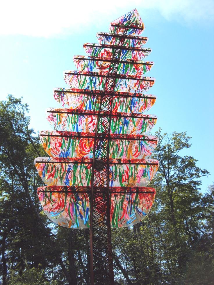 At the Haliburton Sculpture Forest
