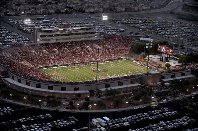 Sam Boyd Stadium - UNLV Football/Las Vegas Bowl