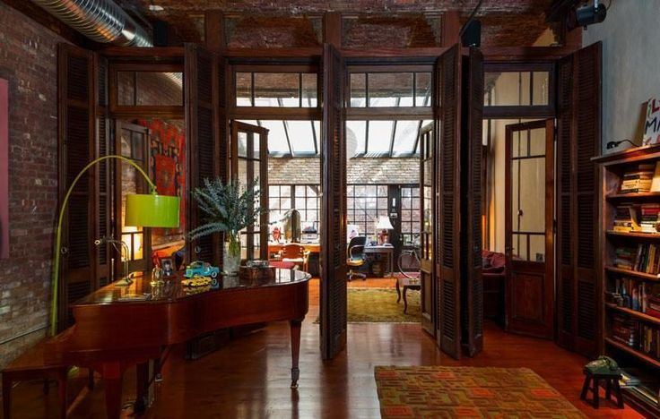 Salvage-Enhanced NYC Loft for $3.25M. More on the furnishings, accumulated by actor B.D. Wong, in NYT: http://www.nytimes.com/2012/09/06/greathomesanddestinations/bd-wong-tames-his-inner-hoarder.html