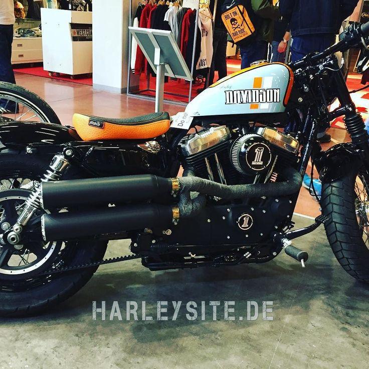 Custombike Show Bad Salzuflen Germany #custombike #custombikeshow #harley ##HD #harleydavidson #badsalzuflen #cbs #sportster
