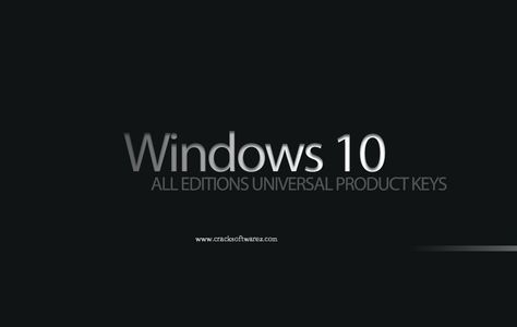 Windows 10 All Editions Product Keys Windows 10 Product Keys are tested keys. it works 100% on your Window 10 almost all edition 32&64 bit. You can extend expire date with this keys. First of a…