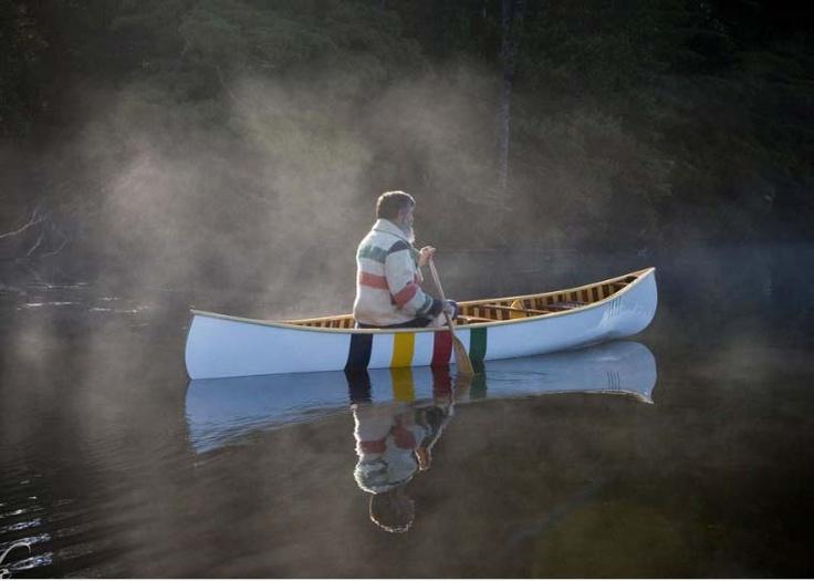 HBC Langford Canoe