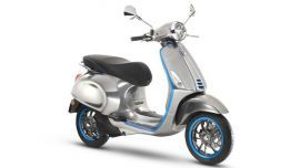 Vespa is looking to fight pollution – both air and sound – with a new electric scooter set to go on sale in 2018 The Elettrica is the iconic company's first battery-powered motorbike.