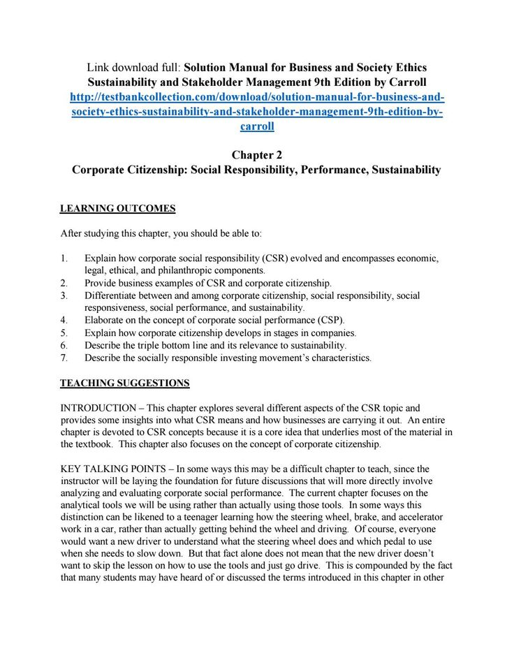146 best solutions manual images on pinterest coding computer solution manual for business and society ethics sustainability and stakeholder management 9th editio fandeluxe Image collections