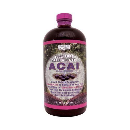 Only Natural Acai Berry Liquid (32 Fl Oz)