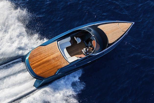 アストンマーティンが高級モーターボート「AM37」を発表 - Autoblog 日本版