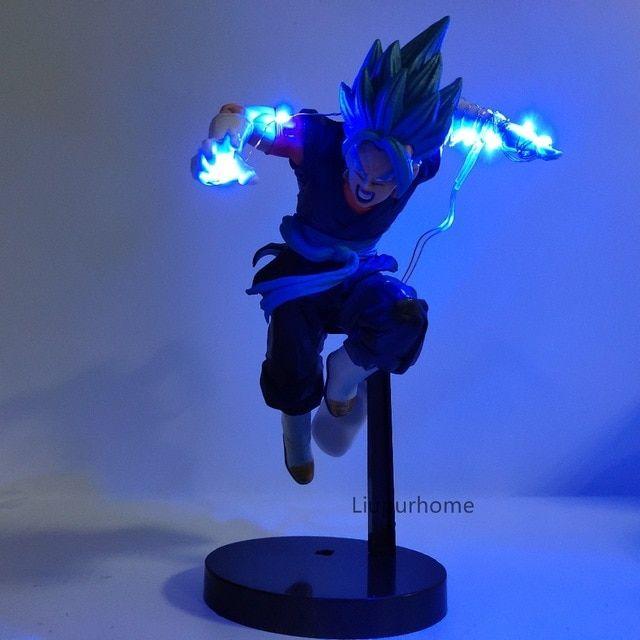 Dragon Ball Led Lamp Vegetto Night Light Dragon Ball Lampara Son Goku Dbz Lamp Decor For Bedroom