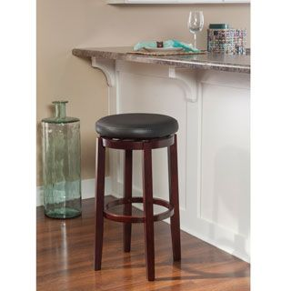Shop For Linon Dorothy Backless Bar Stool Black Swivel Seat. Get Free  Shipping At Overstock · Furniture OutletOnline ...