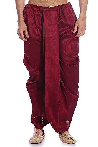 Royal Men's Silk Blend Dhoti (ROYAL_282_Maroon _Free Size) Royal Kurta http://www.amazon.in/dp/B016ZQEMYW/ref=cm_sw_r_pi_dp_J8R8wb1SMWF87