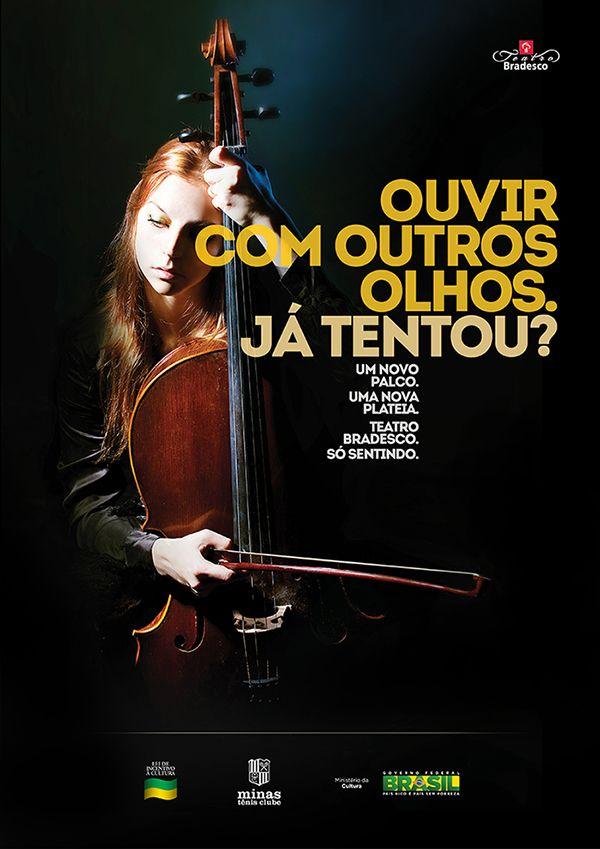 Teatro Bradesco - Bernardo Silveira - Art Director