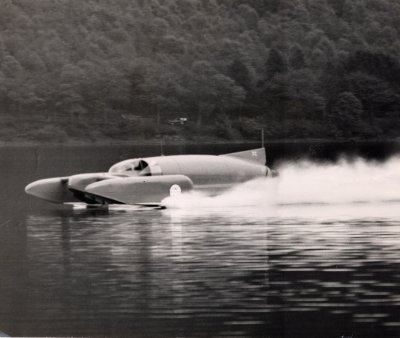 Bluebird Supporters Club - Boats K7--Donald Campbell's Water Speed Record Boat.
