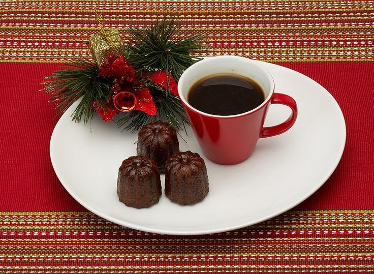 Christmas Canelés