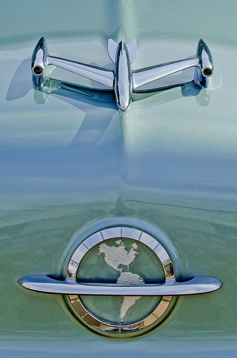 1954 Oldsmobile Super 88 Hood Ornament - Car Images by Jill Reger