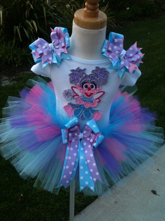 Lil' Miss Abby Cadabby TuTu Set by ButterflyBowtique on Etsy