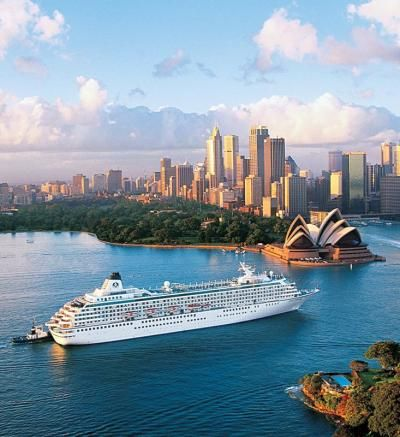 Best Bucket-list Cruises: Crystal Symphony from Crystal Cruises