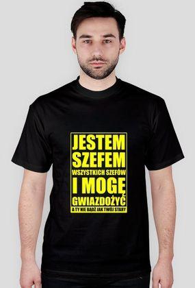 SZEF black and yellow JUSANAWABIJACZ.cupsell.pl - original wear since 2014