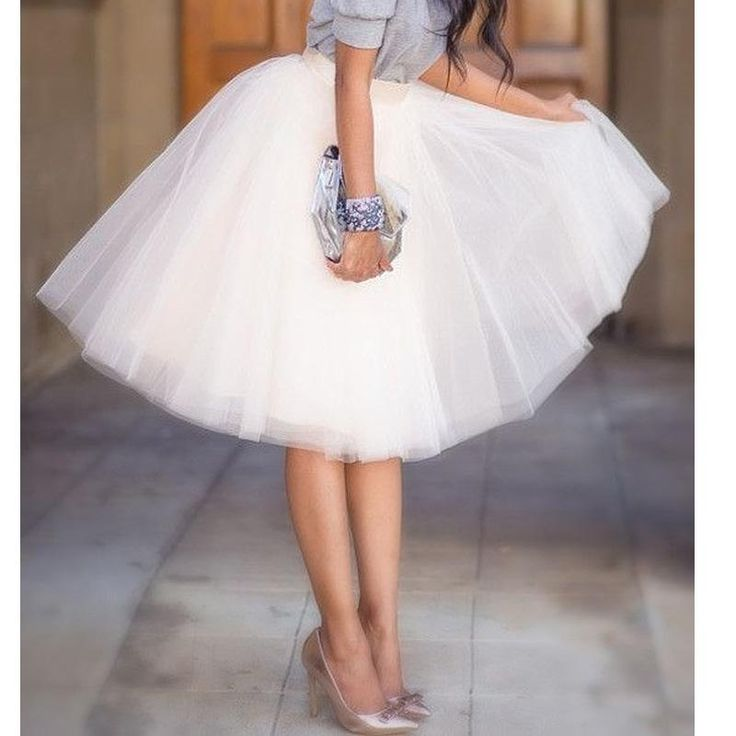 """""""Get ready to take the spotlight with this cute tulle skirts."""""""