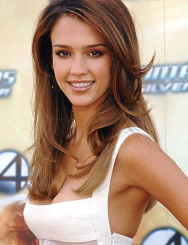 Likable Jessica Alba Hairstyle