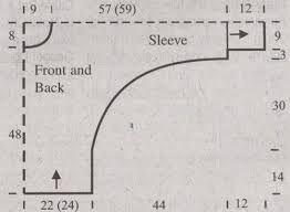 Αποτέλεσμα εικόνας για dolman sleeve knitting pattern