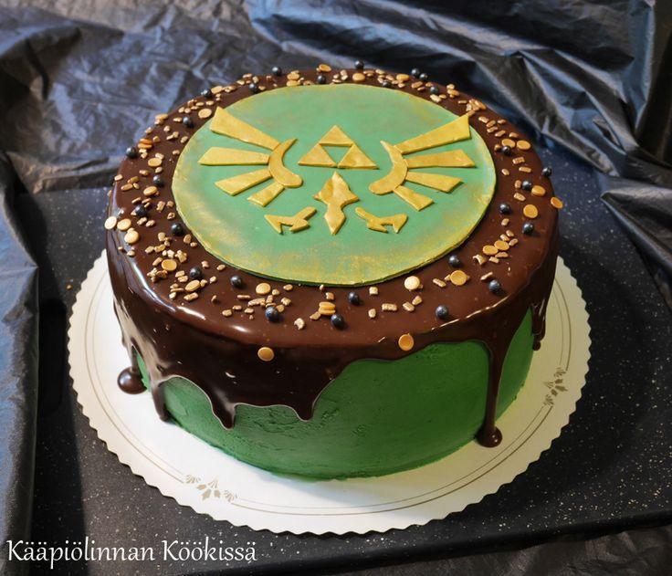 Kääpiölinnan köökissä: Legend of Zelda-kakku