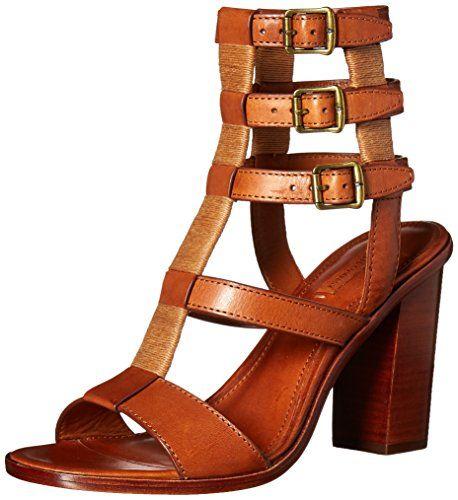 FRYE Womens Suzie Gladiator Dress Sandal Cognac 7 M US -- For more information, visit image link.