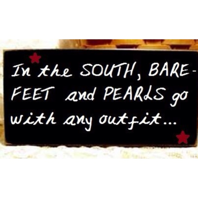 Bare Feet & Pearls | Southern-Fried Humor & Sayings ...