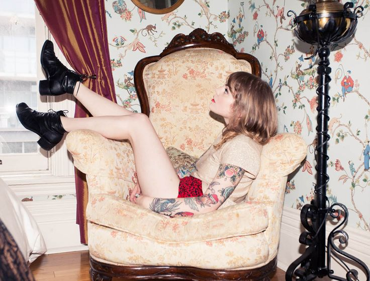 Coeur de Pirate for The Coveteur